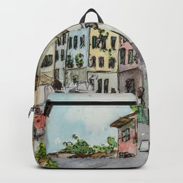 A Stroll Through Florence Backpack