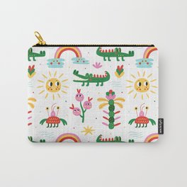 Crocodiles with happy smiles Carry-All Pouch