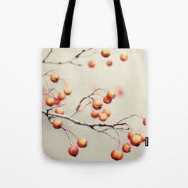 berries in the woods Tote Bag