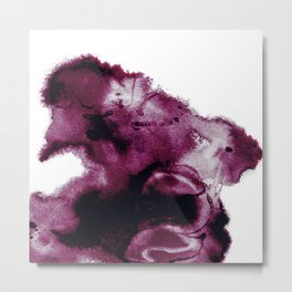 Black Cherry Scape Metal Print