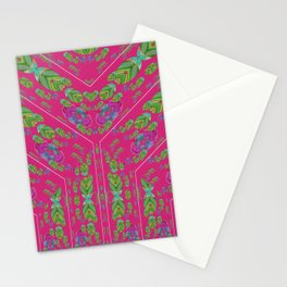 Infinities of Love in Abstract Pink Stationery Cards