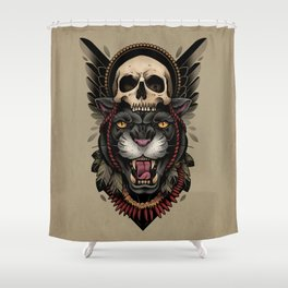 Hunt Or Be Hunted Shower Curtain