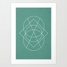 Geometric No.3 Art Print