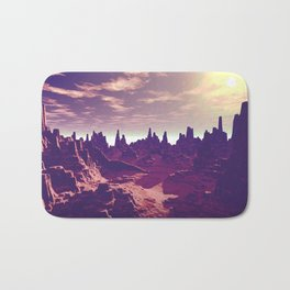 Arizona Canyon Sunshine Bath Mat
