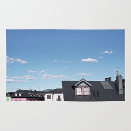 Candy rooftops Rug