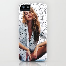 Mademoiselle Dot iPhone Case