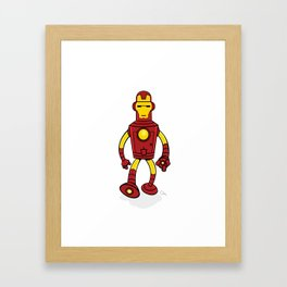 Iron Bender Framed Art Print