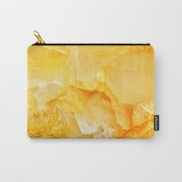 Yellow onyx marble Carry-All Pouch