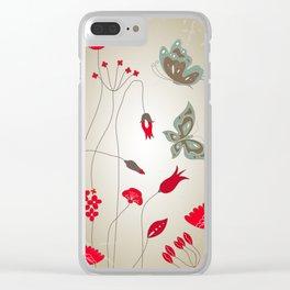 Tatemae Japanese Ochre Clear iPhone Case