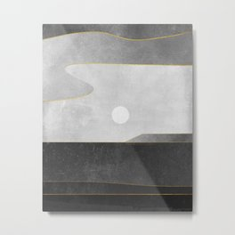 Minimal Landscape 06 Metal Print