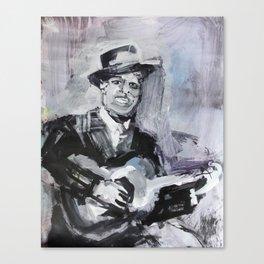Big Bill Broonzy Old Blues Musician Canvas Print