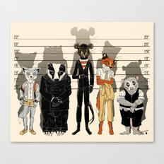 Unusual Suspects Canvas Print