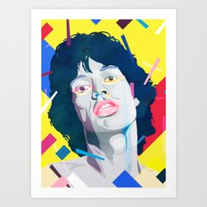 It's ok Mick Art Print