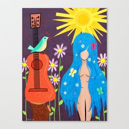 Music Makes Love and Love Makes Music Canvas Print