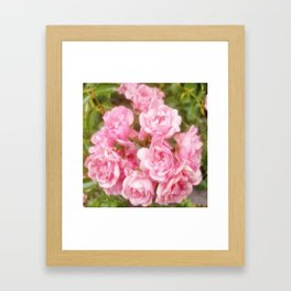 RomanticRose Framed Art Print
