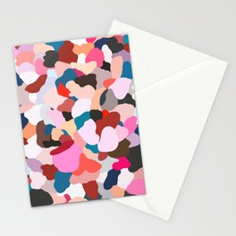 petals: abstract painting Stationery Cards