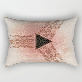 NUMINICAL Rectangular Pillow