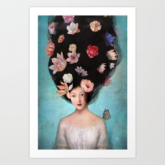 The Botanist's Daughter Art Print