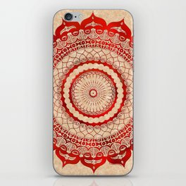 omulyána red gallery mandala iPhone Skin