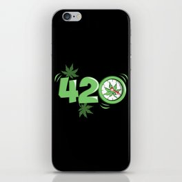 It's 420 Time iPhone Skin