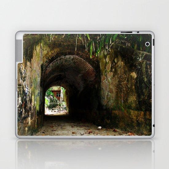 Old tunnel 2 Laptop & iPad Skin
