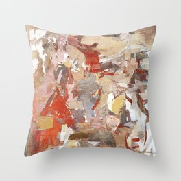 Cristoforo Colombo Throw Pillow