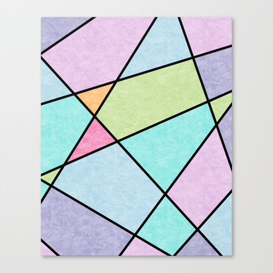 Frosted pastel Canvas Print