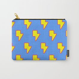 Lightning Logo Print Carry-All Pouch
