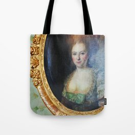 Roccoco Apple blossom Tote Bag