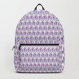 American Bulldog in Watercolor Splash Backpack