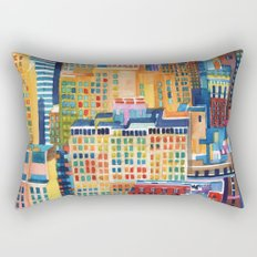 New York buildings Rectangular Pillow