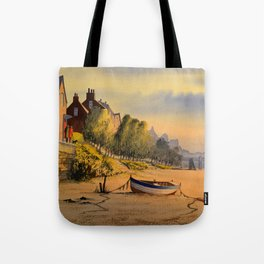 Strand-On-The Green London Early Morning Stroll Tote Bag
