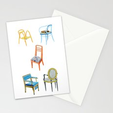 Chairs number 3 Stationery Cards