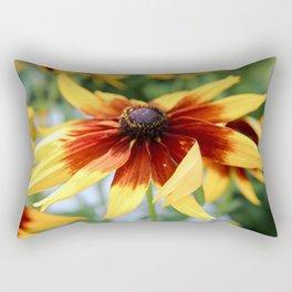 Summer Wild Flowers Photography Rectangular Pillow