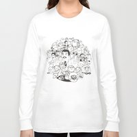 meme Long Sleeve T-shirts featuring Meme P&B by neicosta