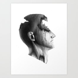 Wood Solomon Art Print