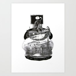 uma maça nunca é só uma maça Art Print