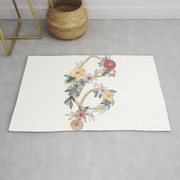 Stethoscope with Florals Rug