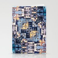 community Stationery Cards featuring Community of Cubicles by Phil Perkins