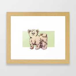 Camembear Framed Art Print