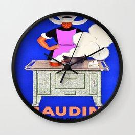 Vintage poster - Baudin Wall Clock