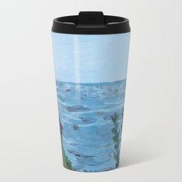 Sea Side Cottage Travel Mug
