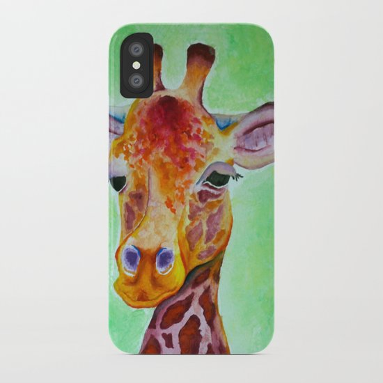 Colorful Giraffe iPhone Case