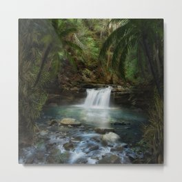 The Jungle 2 Metal Print
