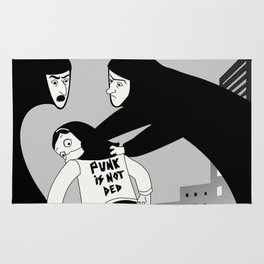 Punk is Not Ded! Rug
