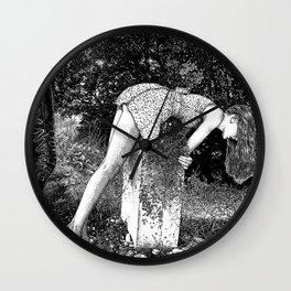 asc 731 - L'autel de la fidélité (Elegy to a Deceased husband) Wall Clock