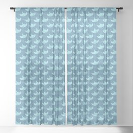 Manta Ray Sheer Curtain