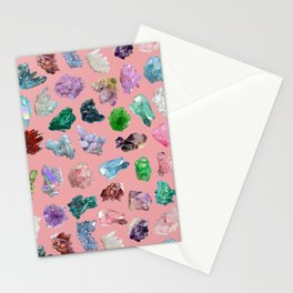 Magic Crystals Stationery Cards
