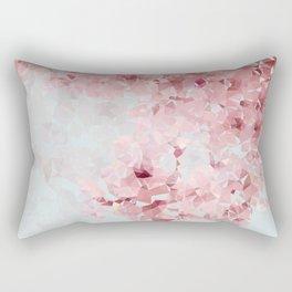 Meshed Up Sakura Blossoms Rectangular Pillow