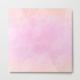 Candy Floss Metal Print